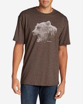 Eddie Bauer Men's Graphic T-Shirt - Growling Bear