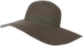 Accessorize Bronze Metallic Floppy Hat