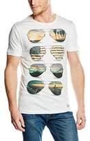 Blend of America Men's T-Shirt White Weiß (70005 Offwhite)