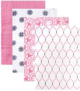Hudson Baby 4-Pack Swaddle Blankets