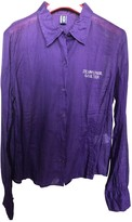 Jean Paul Gaultier Purple Cotton Top for Women Vintage