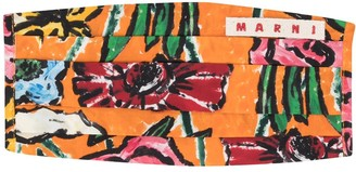 Marni Abstract Floral Print Face Mask Cover