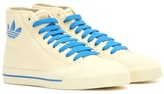 Adidas By Raf Simons Matrix Spirit High-top Canvas Sneakers