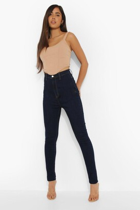 boohoo Tall Basic Disco Skinny Jeans
