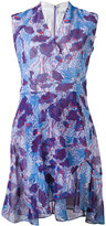 Carven patterned wrap dress - women - Polyester/Acetate/Silk - 38