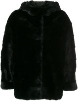 Simonetta Ravizza fur detail jacket
