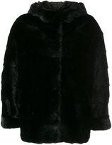 Simonetta Ravizza fur detail jacket