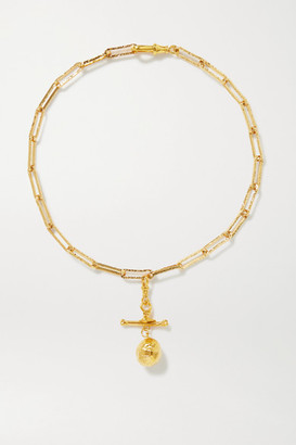 Alighieri L'aura Chapter Iii Gold-plated Necklace