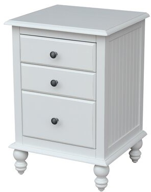 Rosecliff Heights Dania 3 Drawer Nightstand
