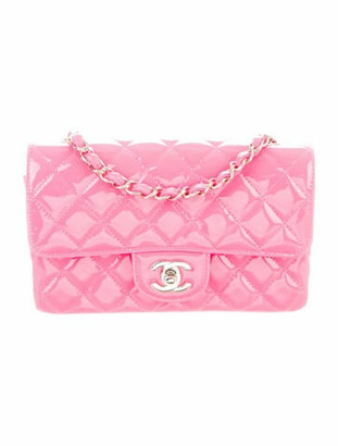 Chanel Classic New Mini Single Flap Bag Pink
