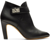 Givenchy Black Shark Lock Heeled Boots