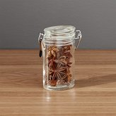 Crate & Barrel Oval Spice/Herb Jar