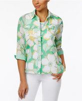 Alfred Dunner Bahama Bays Layered-Look Shirt