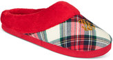 Lauren Ralph Lauren Printed Holiday Slippers