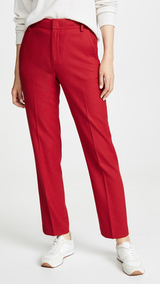 Vince Flannel Tailored Pants