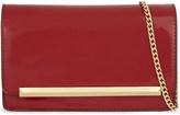 Aldo Afolia faux patent-leather clutch