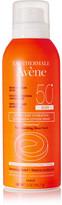 Avene Spf50 Ultra-light Hydrating Sunscreen Lotion Spray, 141.7ml - Colorless