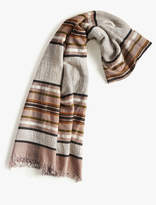 Lucky Brand Neutral Stripe Scarf