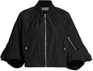 RED Valentino Taffeta Bomber Jacket