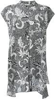 Dvf Diane Von Furstenberg printed short sleeve blouse