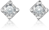 Forzieri 0.18 ct Diamond Stud 18k Gold Earrings