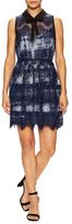 Marissa Webb Owen Lace Overlayer Mini Dress
