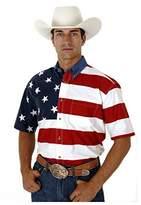 Roper Men's Flag Print Shirt - 3-02-185-101Re
