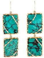 Lana 14K Turquoise Drop Earrings