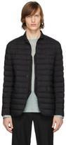 Herno Black Matte Nylon Blazer Jacket