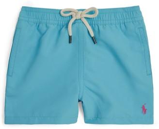 Ralph Lauren Kids Polo Pony Logo Swim Shorts