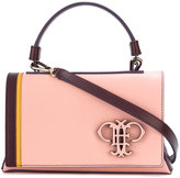 Emilio Pucci logo embossed shoulder bag - women - Calf Leather - One Size