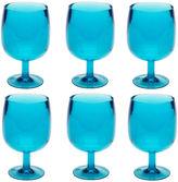 Zak Designs Stacky Set of 6 Stemmed Goblets