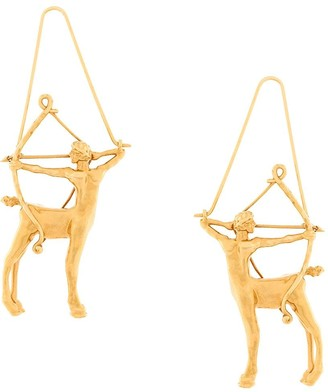 Givenchy Sagittarius zodiac earrings