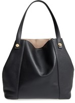 Louise et Cie Maree Leather Tote - Black