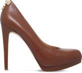 MICHAEL Michael Kors Hamilton leather platform court shoes