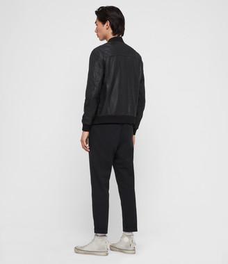 AllSaints Kino Leather Bomber Jacket