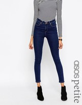 Asos Ridley Skinny Jeans in Deep Blue Wash
