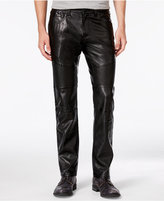 INC International Concepts Men's Slim-Fit Faux Leather Pants, Only at Macy's