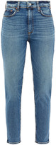 Thumbnail for your product : Rag & Bone Nina Distressed High-rise Skinny Jeans