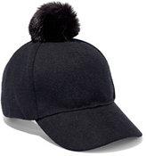 New York & Co. Pom-Pom Baseball Cap