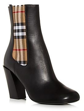 Burberry Women's Alderman High Heel Booties