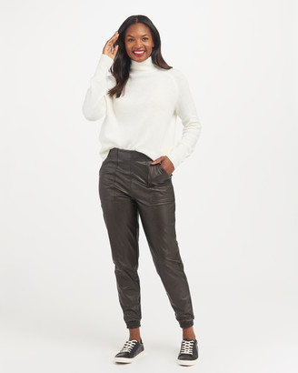 Spanx Leather-Like Jogger