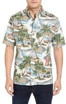 Reyn Spooner Hawaiian Christmas Shirt