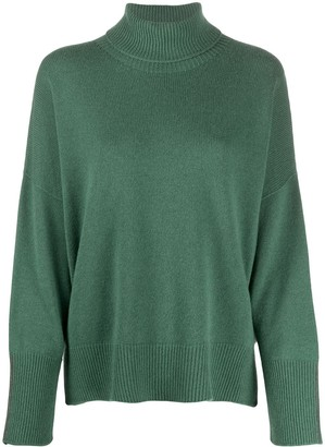 Peserico Oversize Roll Neck Jumper