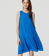 LOFT Tall Sleeveless Swing Dress