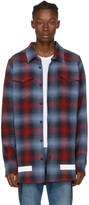 Off-White Red & Blue Check Shirt