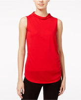 Armani Exchange Cowl-Neck Shell