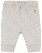 Petit Bateau Baby boy jogging pants in brushed flannelette