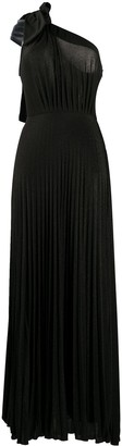 Elisabetta Franchi one shoulder evening dress