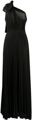 Elisabetta Franchi One Shoulder Evening Dress